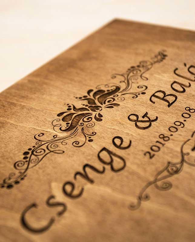 Esküvői vendégkönyv, alternatív vendégkönyv